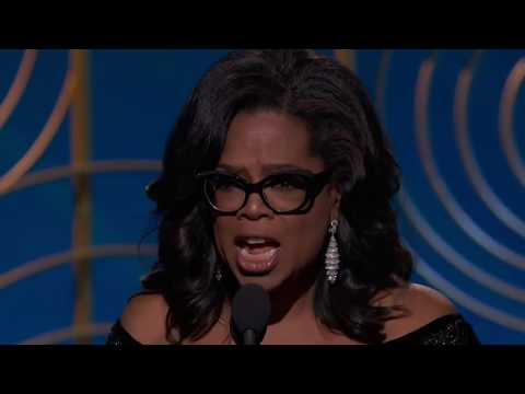 Oprah Winfrey's Speech at the 2018 Golden Globe Awards