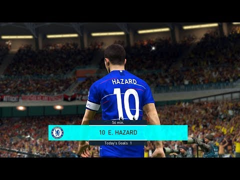 Chelsea Vs Bournemouth 2-0 EPL 1 September 2018 Gameplay