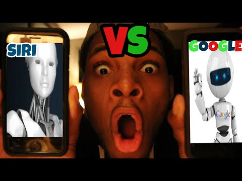 CALLING SIRI AND GOOGLE *THEY HAD A FIGHT!!!!* ROAST BATTLE OMG