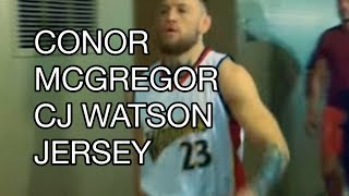 For more about Conor McGregor wears C.J. Watson's jersey to Spite Floyd Mayweather, Draymond Green responds on Instagram,...