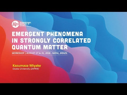 Quantum Critical Phenomena Associated with ChargeTransfer - Kazumaza Miyake