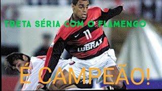TRETA SÉRIA NO FLAMENGO l É CAMPEÃO!!!
