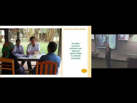 A Social Entrepreneur and Global Mental Health