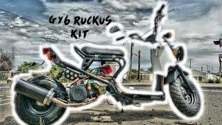 10. Honda Ruckus GY6 150cc no stretch stock look KIT