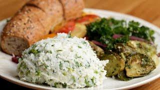 Garlic & Herb Cauliflower Mashed Potatoes by Tasty