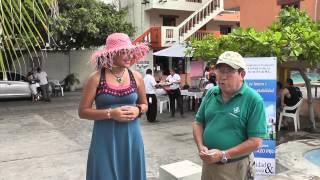 Estampas Salvadoreñas. Programa Del 12 De Octubre. Hotel Y Club De Playa Santa Fe