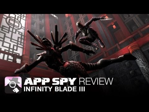 www.appspy.com - Infinity Blade III iOS iPhone / iPad Gameplay Review. Visit http://www.appspy.com for more great iPhone and iPad game reviews. Approximate Installed Size - 2...