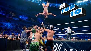Nonton Top 10 Smackdown Moments  Wwe Top 10  Sept  10  2015 Film Subtitle Indonesia Streaming Movie Download