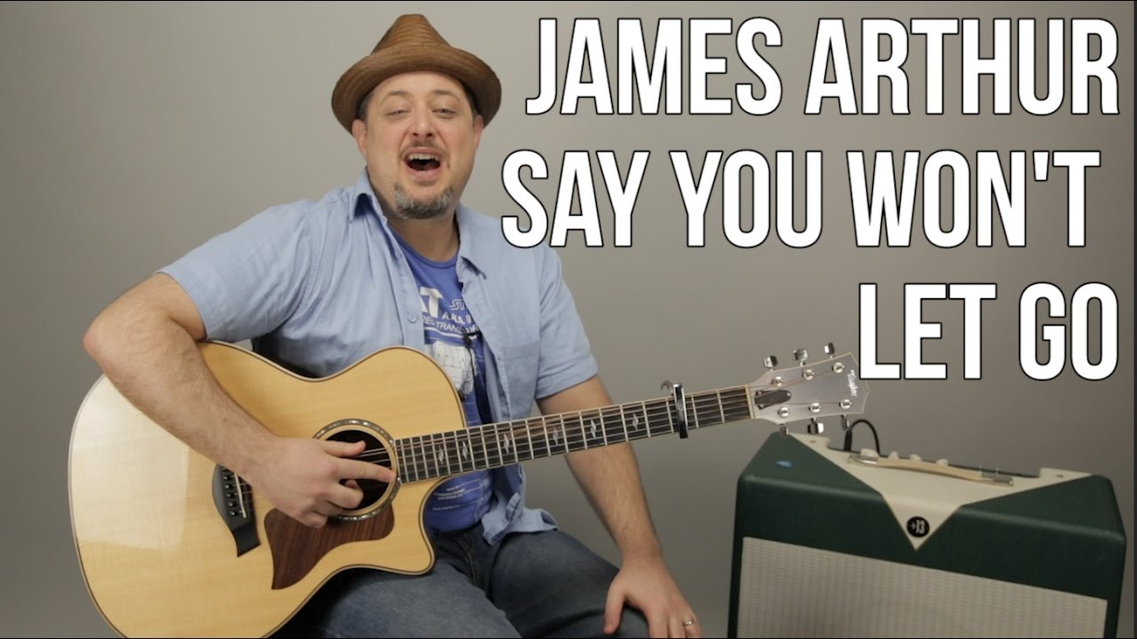 James Arthur – Say You Won't Let Go – Guitar Lesson – Easy Chords Acoustic