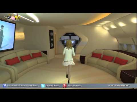 PlayStation Home Personal Space Tour – SuperStar – Jetsetter Private Plane