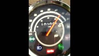 3. Aprilia mojito custom 50 top speed