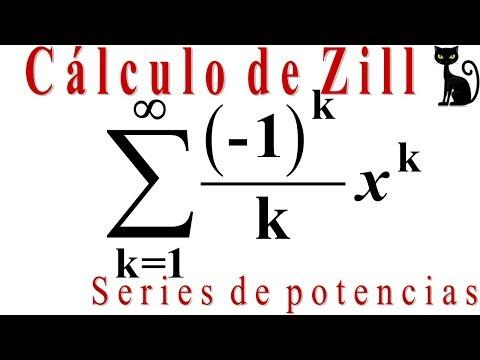 Cálculo de Zill 9.8_1. Intervalo y radio de convergencia de una serie de potencias