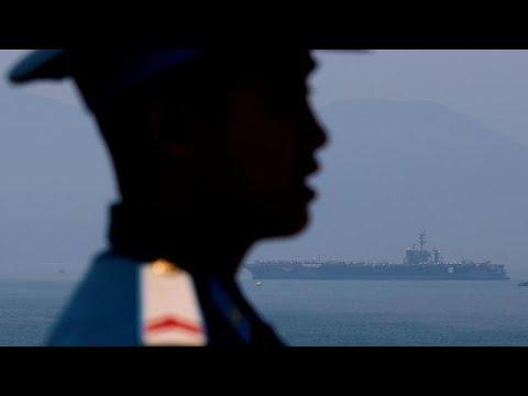 Zum ersten Mal seit 1975: US-Flugzeugträger in Vietna ...