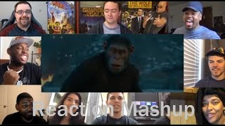 Video War for the Planet of the Apes   Final Trailer -   REACTION MASHUP MP3, 3GP, MP4, WEBM, AVI, FLV Juni 2017