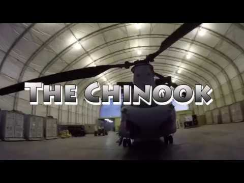 After a day in the air, the Chinook comes down to earth and gets cleaned up by hardworking maintainers. check out the wash in a quick overview of the action!