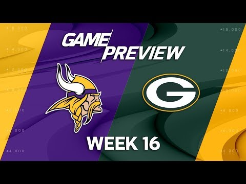 Video: Minnesota Vikings vs. Green Bay Packers | NFL Week 16 Game Preview | Move the Sticks