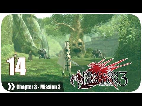 ドラッグ オン ドラグーン3 (Drakengard 3) - Pt. 14 [Chapter 3 '森の国' Mission 3] (видео)