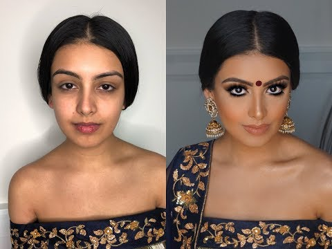 Video Indian | Bollywood | South Asian Bridal Makeup From Start To Finish @Blueroseartistry download in MP3, 3GP, MP4, WEBM, AVI, FLV January 2017