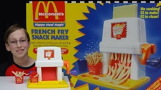 MCDONALD'S FRENCH FRY SNACK MAKER | COLLINTV