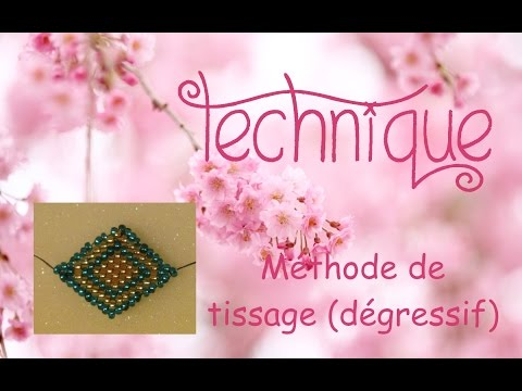 gratis download video - Technique-Tissage-de-perles--mthode-2-dgressif