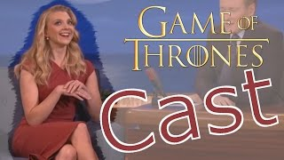 Watch this Game Of Thrones CAST Bloopers, Funny Moments and Interviewers! Actors/Actresses: Sophie Turner, Natalie Dormer, Gwendoline Christie,Maisie ...