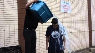 Shipper/Receiver Peter Seal takes the Ice Bucket Challenge at McBain Camera's 107th Ave. location. You can donate to ALS ...