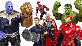 Video Marvel Avengers Infinity War! Hulk, Spider Man, Iron Man, Thor! Defeat the Thanos! - DuDuPopTOY MP3, 3GP, MP4, WEBM, AVI, FLV April 2018
