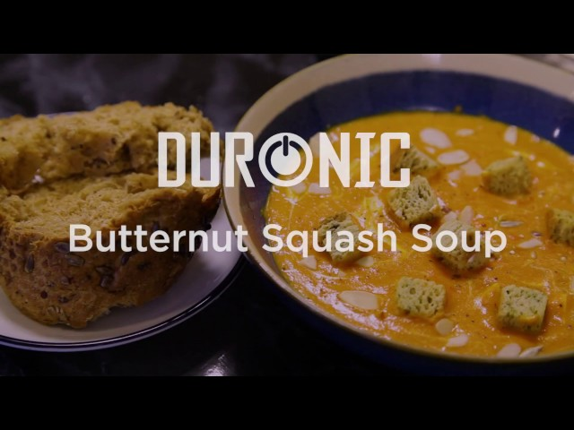 Hearty Butternut Squash Soup Recipe For A Cosy Winters Evening | Duronic | BL78 Soup Maker