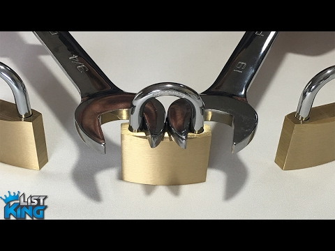 How to Open a Lock with a Nut Wrench | LIST KING