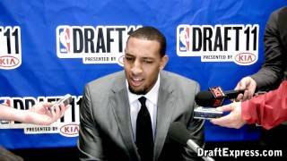Derrick Williams - 2011 NBA Draft - Media Day Interview