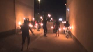 Sitrah Bahrain  city pictures gallery : Bahrain - Angry demonstrators attacking riot police Sitra