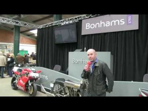 Bonhams auction bikes