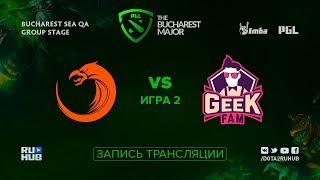 TNC vs GeekFam, PGL Major SEA, game 2 [Lum1Sit, Mortalles]