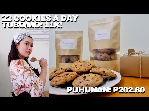 CHOCOLATE CHIP COOKIES FOR BUSINESS | NO OVEN NEEDED