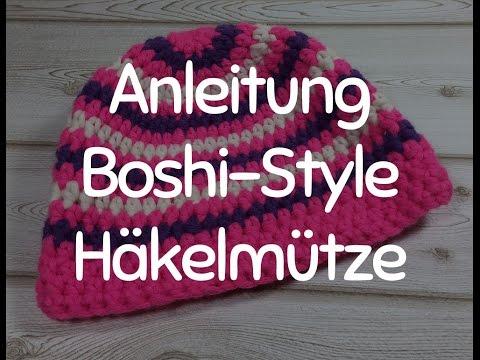 Anleitung: Stylische Häkelmütze im Boshi-Style – Mütze Häkeln für Anfänger, das Tutorial