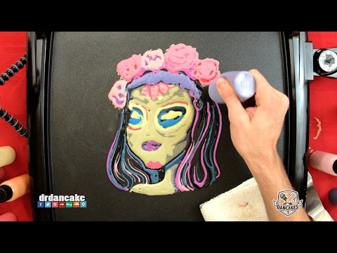 Sugar Skull Girl (Day Of The Dead) Pancake Art
