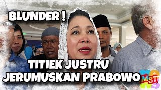 Video Blunder! Ingin Bela, Titiek Justru Menje (rumus) kan Prabowo MP3, 3GP, MP4, WEBM, AVI, FLV Desember 2018