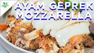 Resep Ayam Geprek Mozzarella