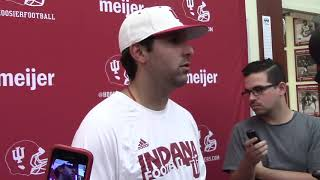 Watch and listen to what IU quarterbacks coach Nick Sheridan had to say following IU's latest practice in fall camp.