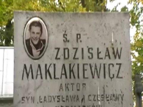 Maklakiewicz-A Fe na grobie Zdziśka