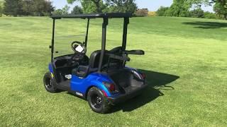 9. 2018 YAMAHA DRIVE 2 EFI QUIETECH AQUA BLUE GAS