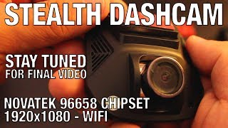 STAY TUNED FOR FINAL VIDEO (NO FOOTAGE) -  Stealth Dash Cam 1080p NOVATEK NT96658 + WIFI connectionAvailable from Small-eye2017 Store: https://www.aliexpress.com/store/product/Car-DVR-Camera-Video-Recorder-Wireless-WiFi-APP-Manipulation-Full-HD-1080p-Novatek-96658-IMX-322/1985487_32780261439.html?spm=2114.12010608.0.0.yxIpvjHope you like this small video! Thanks for watching!_____Video uploaded by me to my channel 'Ryaniwk' - You have no right to copy and re-use this video without mentioning the channel URL and name on the video player._____DISCLAIMER:This dash camera was sent to me for free of charge in return for an honest review. My reviews are honest and unbiased. This is not a paid review. _____YOUTUBE LINK:https://youtu.be/LysKE0Ww78A_____MUSIC: Cry  YouTube Audio Library_____KEYWORDS:Stealth dash camstealth dashcamdash cam reviewdashcam reviewAzdome A305azdome dash camWifi dash camWifi dashcamwifi dash cam reviewhidden dash cam review1080p dashcamNovateknovatek chipsetnovatek 96658novatek NT96658dash cam review 1080pFull HD dashcam