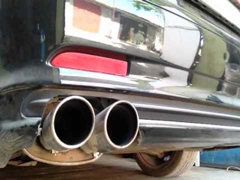 Bmw e46 coupe 318i exhaust