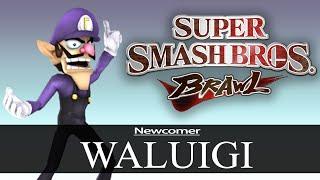 Waluigi Brawl Mod Release Trailer!