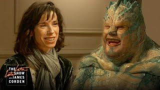 Video When Your Catfish Is Actually a Fish (w/ Sally Hawkins) MP3, 3GP, MP4, WEBM, AVI, FLV Maret 2018
