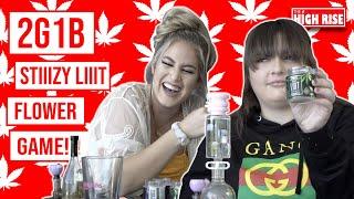 STIIIZY LIIIT FLOWER STRAIN REVIEW W/ 2 GIRLS 1 BONG!! by HighRise TV