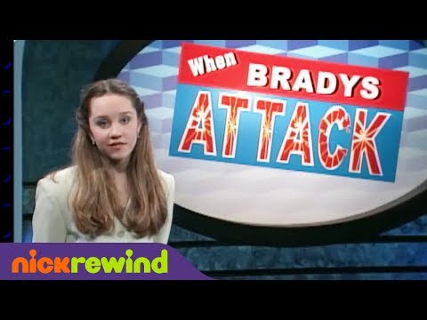 When Bradys Attack | The Amanda Show | NickRewind
