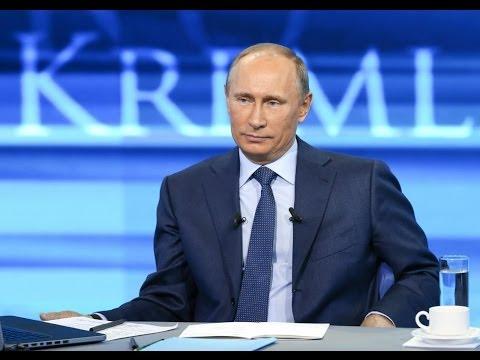 Прямая линия с Владимиром Путиным 17 апреля 2014 - DomaVideo.Ru