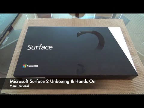 Microsoft Surface 2 Unboxing & Hands On