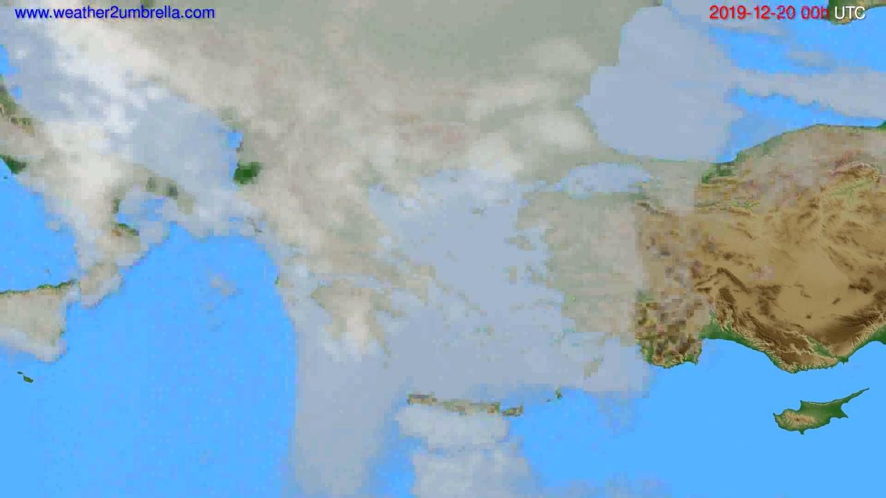 Cloud forecast Greece // modelrun: 00h UTC 2019-12-19